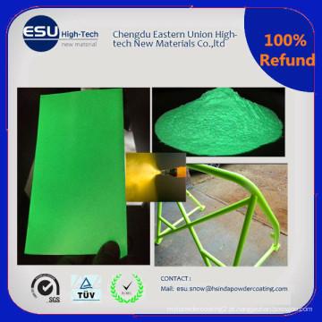 China Fábrica de Venda Glow em cor escura Powder Coated Paint Coating