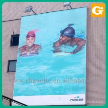 Hanging billboard outdoor promotional ads