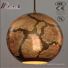 Post Modernity Round Glod Ancient Pendant Lighting with Restaurant