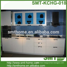 cheap modern modular customized melamine kitchen cabinet