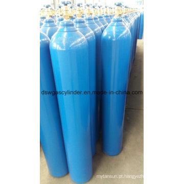 Gás de 99,9% Co / N2o / H2 enchido no gás do cilindro 8L com válvula