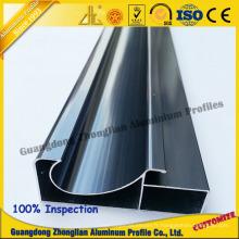 Cadre en aluminium pour le profil d'aluminium de cuisine de cadre d'armoire