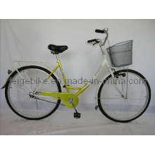 Bicicleta de cidade de bicicleta clássica de freio traseiro Coaster (FP-TRDB-S040)