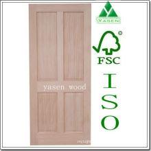 Fábrica Radiate Pine 4 Panel Puerta de madera
