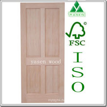 Factory Radiate Pine 4 Panel Wooden Door