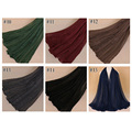 TINGYU Wholesale Malaysia Pakistani Cotton Lace Scarf Women Hijab