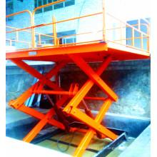 Sjg 2.0-2 Plataforma de elevação fixa em tesoura