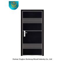 Fasion gepanzerte Sicherheitstür (schwarze Farbe)