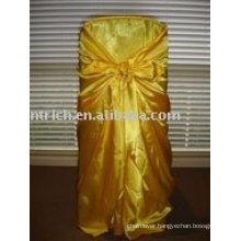 Universal chair cover,satin chair covers,self-tie/bag chair covers