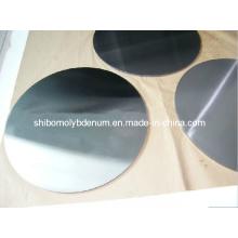 99,95% Disques ronds en molybdène et cercles purs
