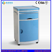 High Quality ABS Multi-Function Hospital Bedside Cabinet Price