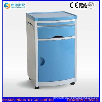 Medical Bedside ABS Hospital Cabinet