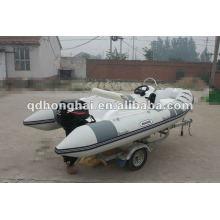 fiberglass hull RIB boat HH-RIB470C with CE