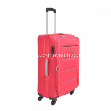 Aluminium Trolley 4 Spinner Wheels Luggage Set