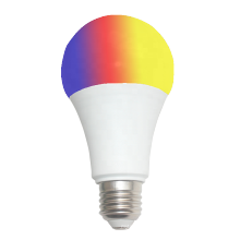 2020 hot sale 85-265V E37 B22 base RGBW color 6W led bulb