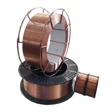 Alambre de soldadura blindado con gas CO2 recubierto de cobre ER70s-6
