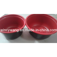 Red Lunch Plate (HL-156)