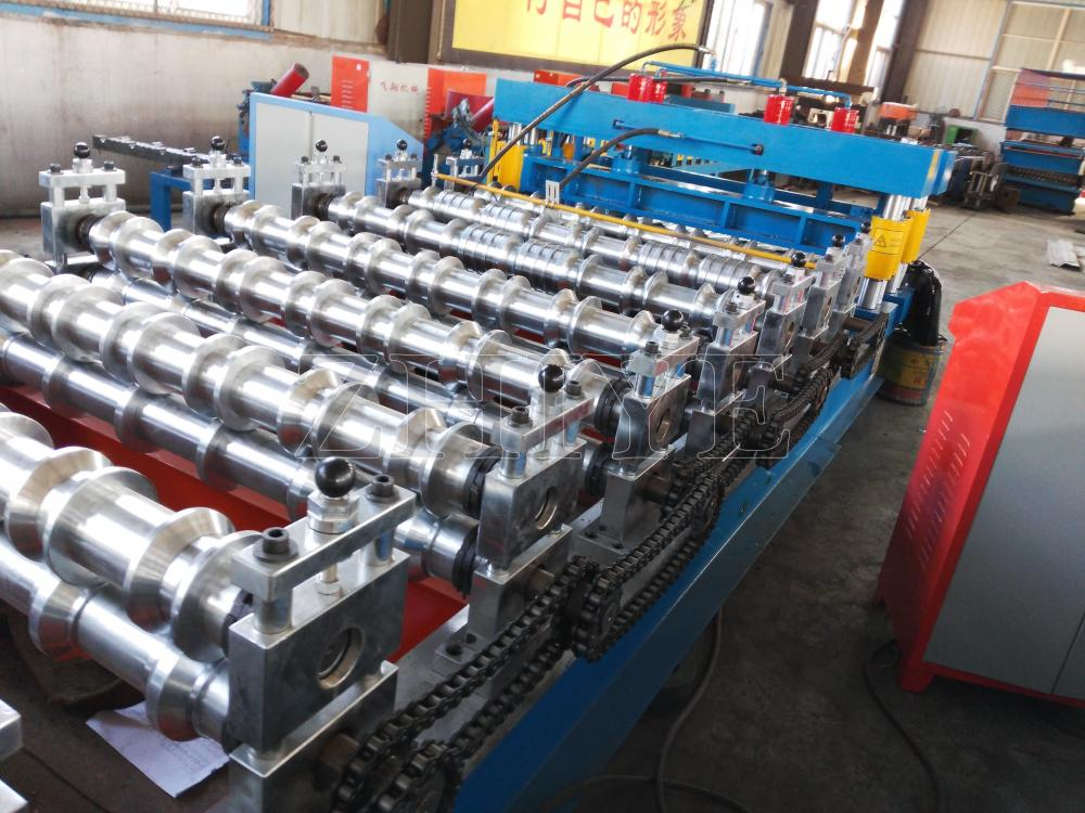 Hydraulic Galvanized Glazed Roof Tile Forming Machine