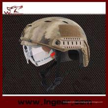 Capacete tático militar Bj Airsoft capacete capacete rápido