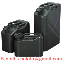 Gas Fuel Steel Tank Military Style Storage Can 5L/10L/20L