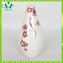 2015 Regalos de promoción Vaso de cerámica Vaso decorativo de la boda