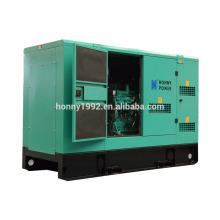 50Hz 30kW Silent Diesel Generator mit großem Kraftstofftank