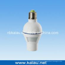 E27 titular de la lámpara del sensor de movimiento (ka-slh02)