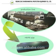 fabriquer un pipeline résistant à l'usure pour l'eau pour le gaz pour le tuyau de HDPE d'huile