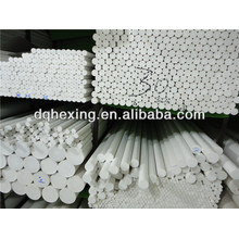 100% ptfe rod nature white ptfe teflon rod
