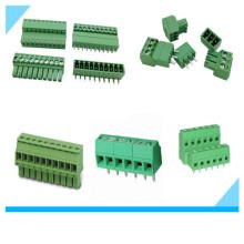 Fabrik Euro Elektrische Schraube 3,81 Pitch Terminal Block für PCB