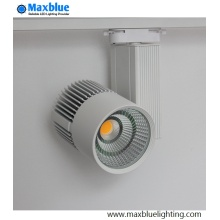 Dimmable COB LED Schienenleuchten Fixtures High CRI 80ra / 90ra