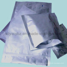 Aluminiumfolie-Plastikverpackungs-Tasche mit Ziplock