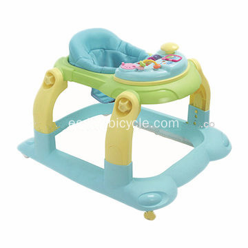 Plegable Rolling Baby Walker