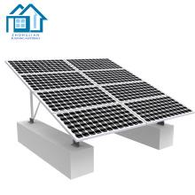 Marco de aluminio del panel solar de la protuberancia del perfil para el sistema de montaje solar