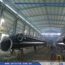 Tubo de sucção de aço para a draga de funil de sucção de arrastar (USC-3-001)