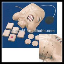 Maniquí de drenaje pleural de ISO, Descompresión de neumotórax, Modelo de drenaje torácico