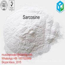 99% Pureza Sport Nutrition Powder Sarcosine para los suplementos de la aptitud del músculo
