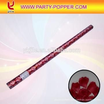 100cm party poppers with shiny confetti canon