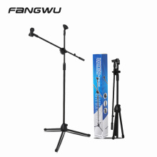 Cheap Price Outdoor Activities Music Instrument Microphone Stand