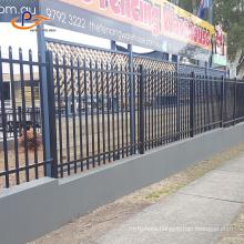 Customized Metal Fence Zinc Steel Fence Panels Wrought Iron Fence