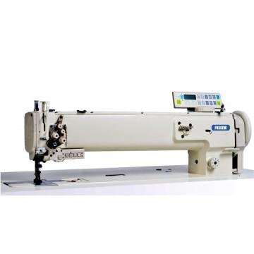 Long arm auto trimming compound feed Sofa and tent sewing machine