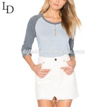 wholesale custom design beautiful long sleeve tshirt