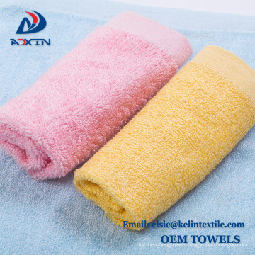 Promotional gift 6pcs/unit 100% bamboo baby towel