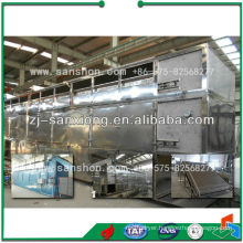 China Dehydrated Vegetable Conveyor Belt Dryer Machine