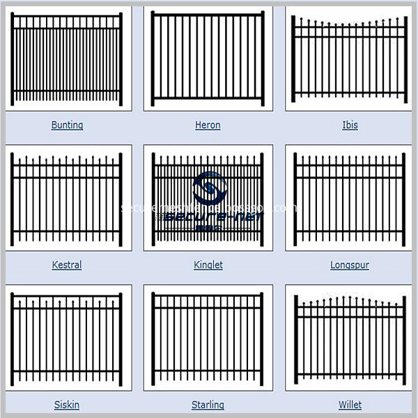 Swimming Pool Fence Models
