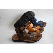 New Design Men Beach Shoes with PU Outsole (SNB-14-021)
