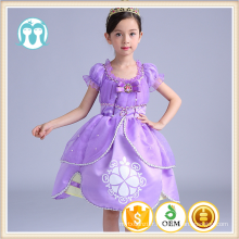 enfants princesse vêtements bébé cartoon custome cosplay robes filles Bell princesse robes de soirée