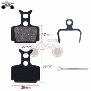 hot sale bicycle disc brake/ braking lining/ bicycle brake pads
