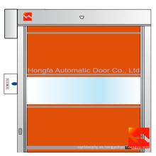 puertas de persiana enrollables de seguridad eléctrica