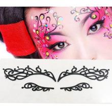 Европе мода лицо искусства глаз стикер